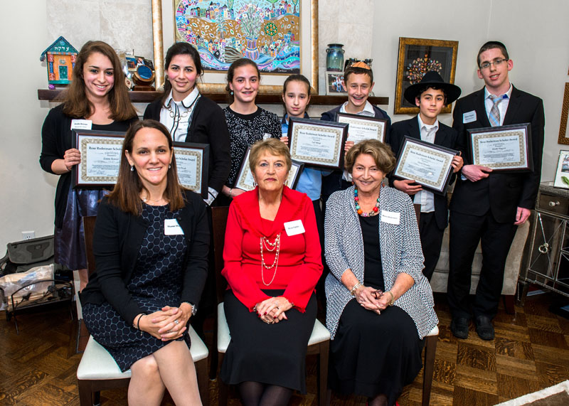 Seven Outstanding Students Recognized by Rose Ruderman Scholarship Award