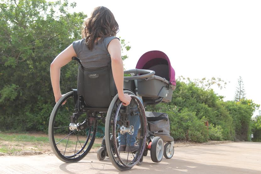 Innovation enables independent wheelchair parenting