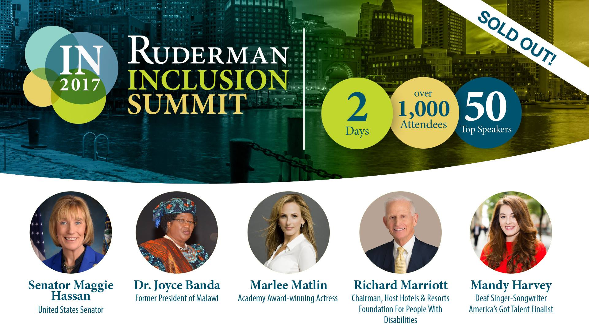 5 Things not to Miss at the 2017 Ruderman Inclusion Summit