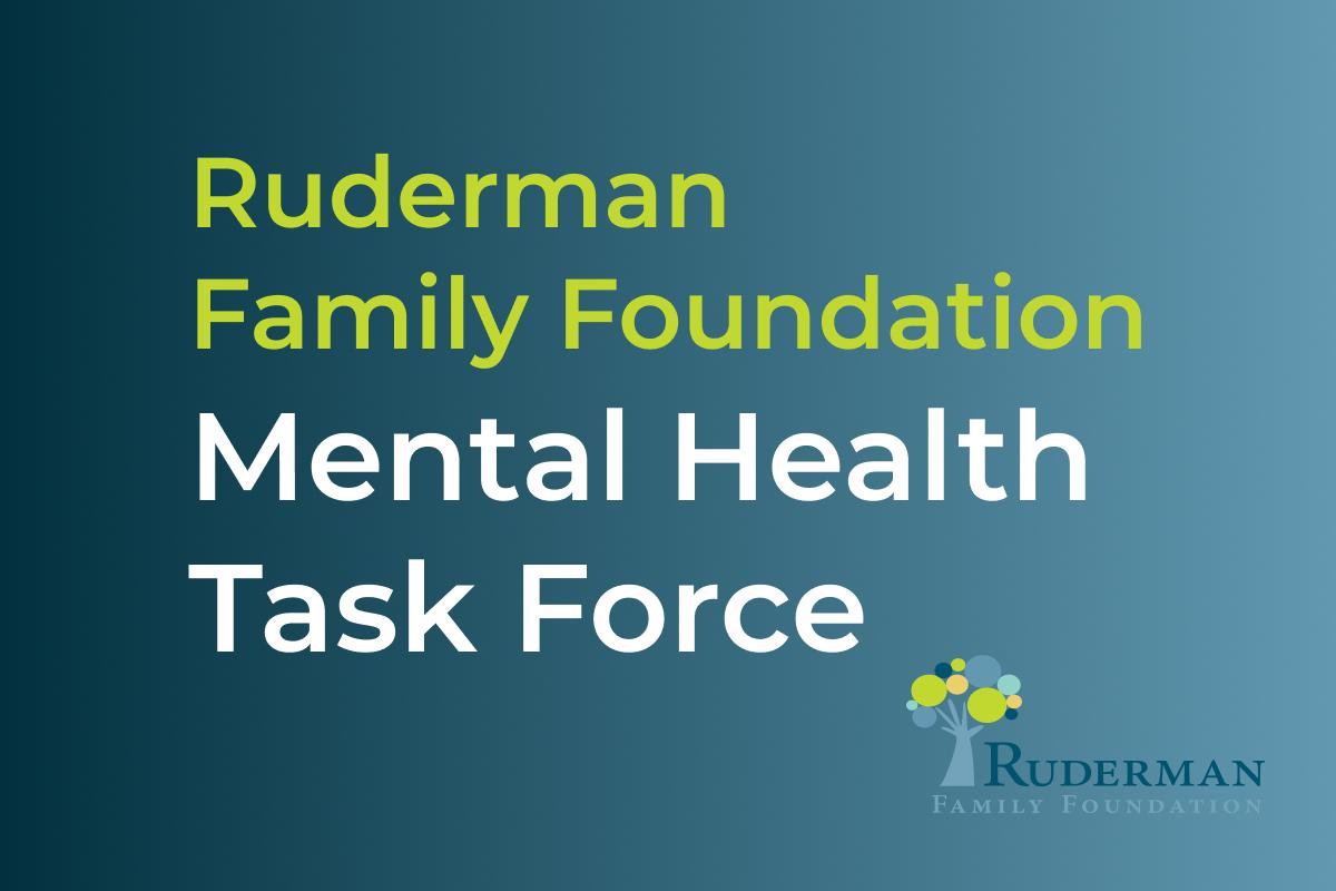 Mental Health Taskforce